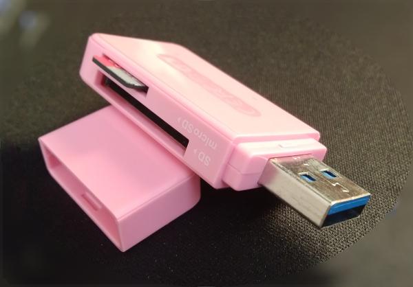 讀卡機與 micro SD 記憶卡